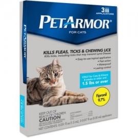 PetArmor 1.5 libras o más de Aplicadores para gatos 0017 onzas fluidas 3 recuento