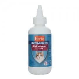 Hartz Guardia 14108 4 oz Ultra -- Liquid Worm Rid