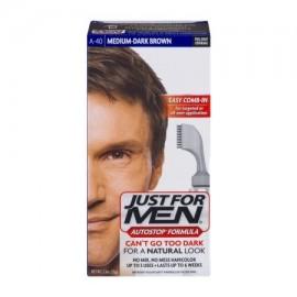Just For Men AutoStop mediano oscuro Marrón A-40 1 ea