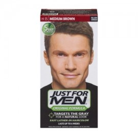 Just For Men fórmula original Fácil Lather-In Color de pelo H-35 Medium Brown 10 KIT DE