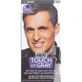 Just For Men Touch Of Grey Fácil Peine-In Color de pelo Negro T-55 1.4 OZ
