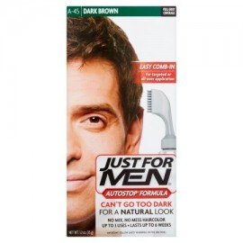 Just For Men Autostop Fórmula oscuro Marrón A-45 Color del pelo 1.2 oz