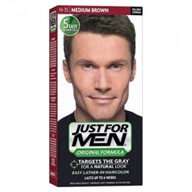 6 Pack - Just For Men Color de pelo Brown medio 35 1 Cada