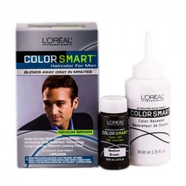 L'Oreal Técnica color Ajustes Color de pelo para los hombres (Color- Medium Brown)