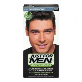 Just For Men Color de pelo champú Brown más oscuro