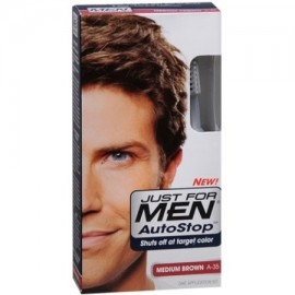 Just For Men AutoStop Color de pelo marrón medio A-35 1 Cada (Pack de 2)