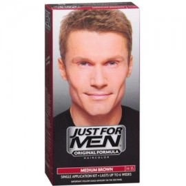 Just For Men Color de pelo Brown medio 35 1 ea (Pack de 2)