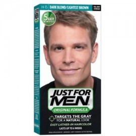 Just For Men Color de Pelo H-15 Rubio Oscuro 1 Cada (paquete de 4)