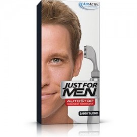 Just For Men AutoStop toda prueba de color de pelo rubio arena A-10 1 ea (Pack de 3)