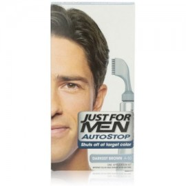 Just For Men AutoStop Color de pelo Darkest Brown A-50 1 ea (Pack de 3)