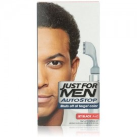 Just For Men AutoStop Foolproof Color de pelo Jet Negro A-60 1 ea (Pack de 4)