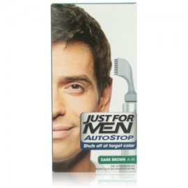 Just For Men AutoStop Color de pelo oscuro Brown A-45 1 Cada (Pack de 3)