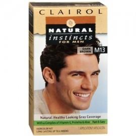 NATURAL INSTINCTS Color de pelo para los hombres M13 Café oscuro 1 Cada (paquete de 6)