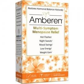 Alivio de la menopausia Amberen suplemento dietético 60 ct