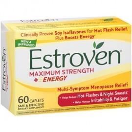 Energía Cápsulas Suplemento dietético Maximum Strength - (60 ct.) Noche menopausia Porciones Cohosh Negro Conde Fórmula Estr