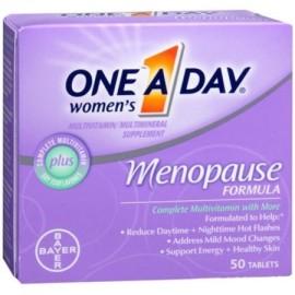 One-A-Day La menopausia fórmula completa de multivitaminas 50 tabletas Mujeres (paquete de 4)