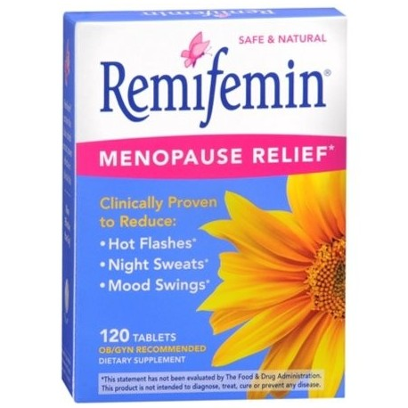 Remifemin menopausia comprimidos 120 comprimidos (Pack de 4)