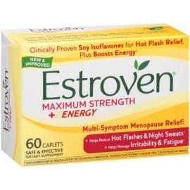Energía Cápsulas Suplemento dietético Maximum Strength - (60 ct.) Noche menopausia Porciones Cohosh Negro Fórmula Conde Estr