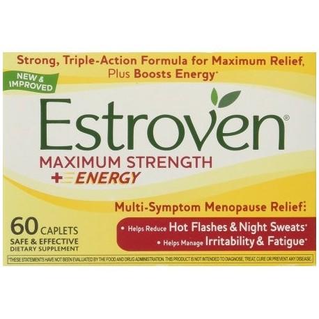 La fuerza máxima (120 Capsulas) melatonina menopausia Cohosh Negro Libido Count Insomnio Fórmula para mujer TABLETAS máxima S