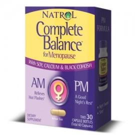 Natrol Complete Balance para la menopausia AM Cápsulas 30 Ct
