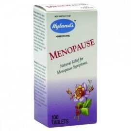 Hyland's menopausia tabletas natural homeopático El alivio de los síntomas de la menopausia 100 Conde