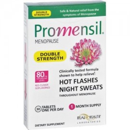 Real Health Laboratories Promensil menopausia Doble Fuerza sofocos y sudores nocturnos Tablets 30 EA (Pack de 3)