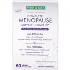Nature's Bounty Las soluciones óptimas completas Tabletas Complejo La menopausia de Apoyo (60 tabletas Pack de 2)