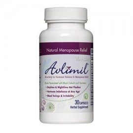 Avlimil | Elaborado con ingredientes orgánicos para el equilibrio hormonal y el Suplemento de la menopausia | Soporte estado de