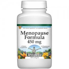 Menopause Formula - sauzgatillo Cohosh Negro Cramp Bark y más - 450 mg (100 cápsulas ZIN- 516749)