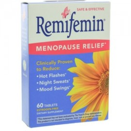 Paquete de 4 - Remifemin menopausia Relief Tablets 60 ea