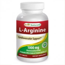 Best Naturals L-arginina Tablets 1000 mg 120 Ct