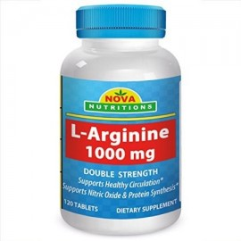 Nova Nutritions L-Arginina 1000 mg 120 Tablets