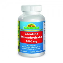 Nova Nutritions monohidrato de creatina 1000 mg 240 Tablets