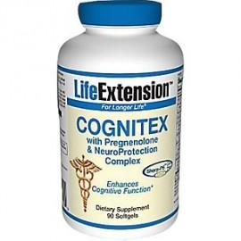 Cognitex con pregnenolona y Cerebro Escudo Life Extension 90 Caps