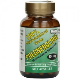 ONLY NATURAL Pregnenolone Cápsulas 60 CT