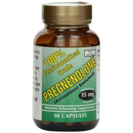 ONLY NATURAL Pregnenolone 15 mg 60 Ct