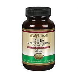 Lifetime - DHEA pregnenolona Cápsula (BTL-Glass) 60 tabletas de 15 mg