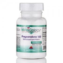 Pregnenolona 100 mg micronizado matriz lipídica - 60 comprimidos ranurados por Nutricology