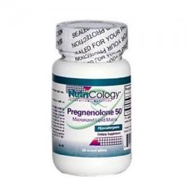 Nutricology Pregnenolone 50 mg comprimidos - 60 Ea