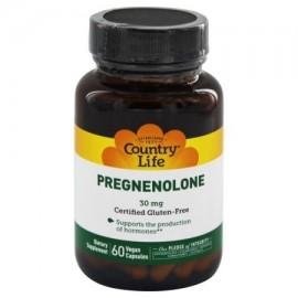 Country Life - Pregnenolone 30 mg. - 60 cápsulas vegetales