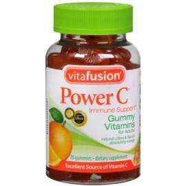 Vitafusion Potencia C Gummy vitaminas Absolutamente Naranja 70 cada uno