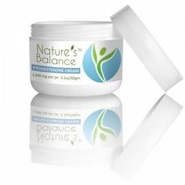 Crema de progesterona Equilibrio Bio-idéntica de la Naturaleza. Sin perfume.
