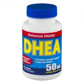 DHEA tabletas de suplementos alimenticios - 50 CT