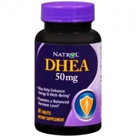 Natrol DHEA 50 mg comprimidos 60 comprimidos (Pack de 3)