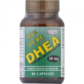 ONLY NATURAL DHEA 99% de pureza 50 mg cápsulas 60 CT