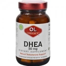 Olympian Labs HG0392829 50 mg Dhea - 60 Vegetarian Capsules
