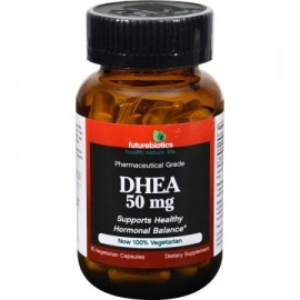 Futurebiotics DHEA - 50 mg - 75 Vegetarian Capsules - (Pack of 2)