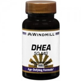 Windmill DHEA 50 mg Tablets 50 Tablets (Pack of 2)