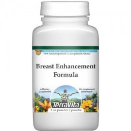 Breast Enhancement Formula Powder - alholva Saw Palmetto y Wild Yam (1 oz ZIN- 514010)