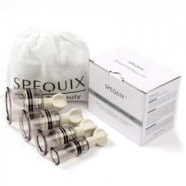 SPEQUIX 4 Piezas de la torcedura de succión masaje ahuecamiento masaje del cuerpo de Copas para el Cuerpo Relax Volver Correcci